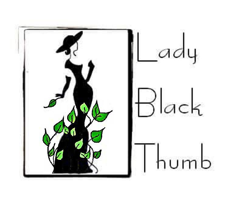 Lady Black Thumb Logo