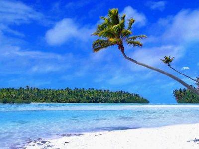 Tropical Beach Living Desktop 52952