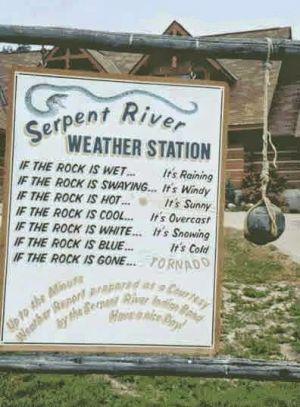 Weather-rock