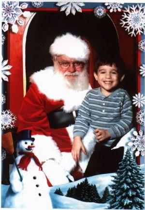 Dylan And Santa